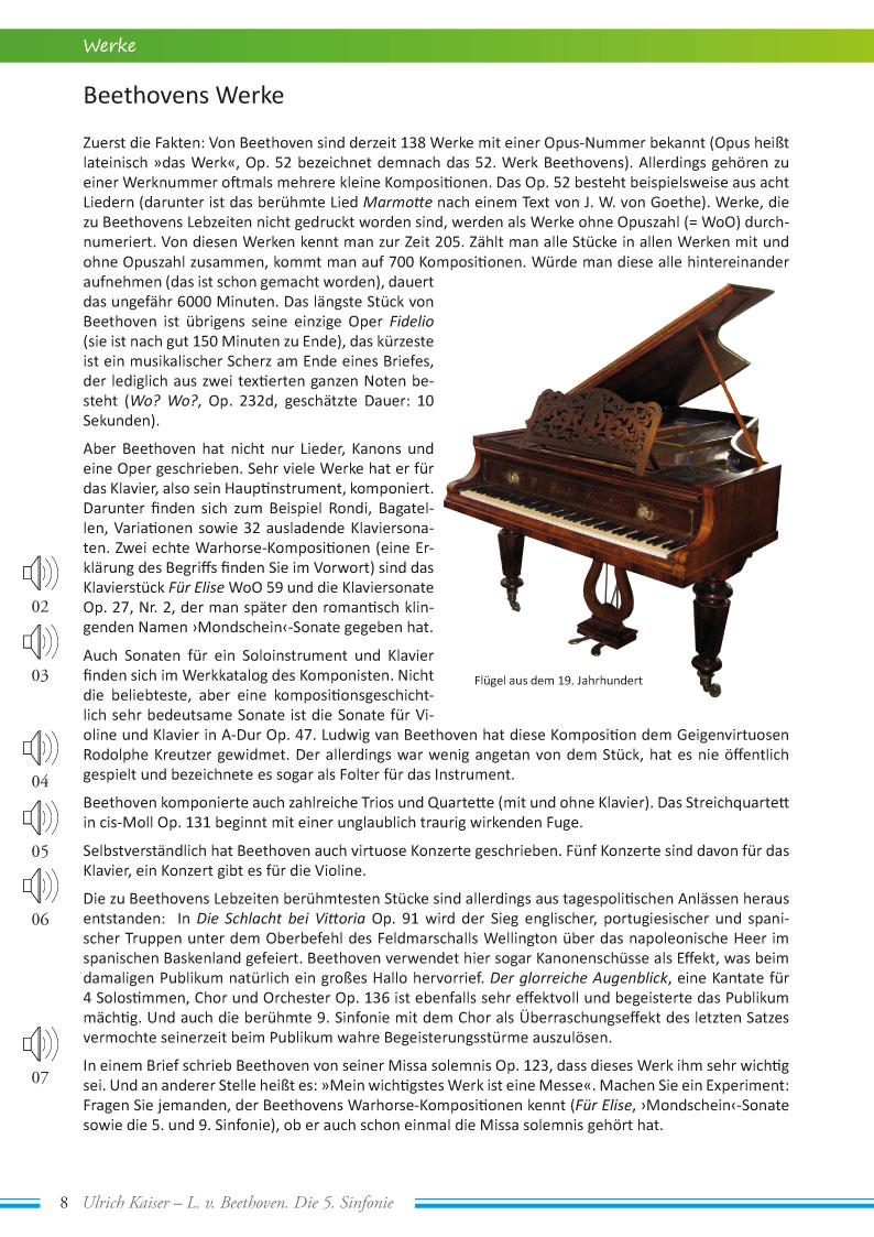 Ludwig van Beethoven Klavierkonzert Nr. 5 Es-Dur Op. 73 Fantasie Für Klavier Chor Und Orchester Op. 80